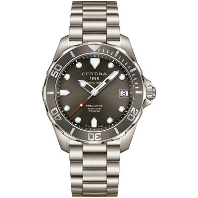 Mens Certina DS Action Precidrive Titanium Watch C0324104408100