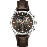 Mens Certina DS-8 Precidrive Moonphase Chronograph Watch C0334501608100