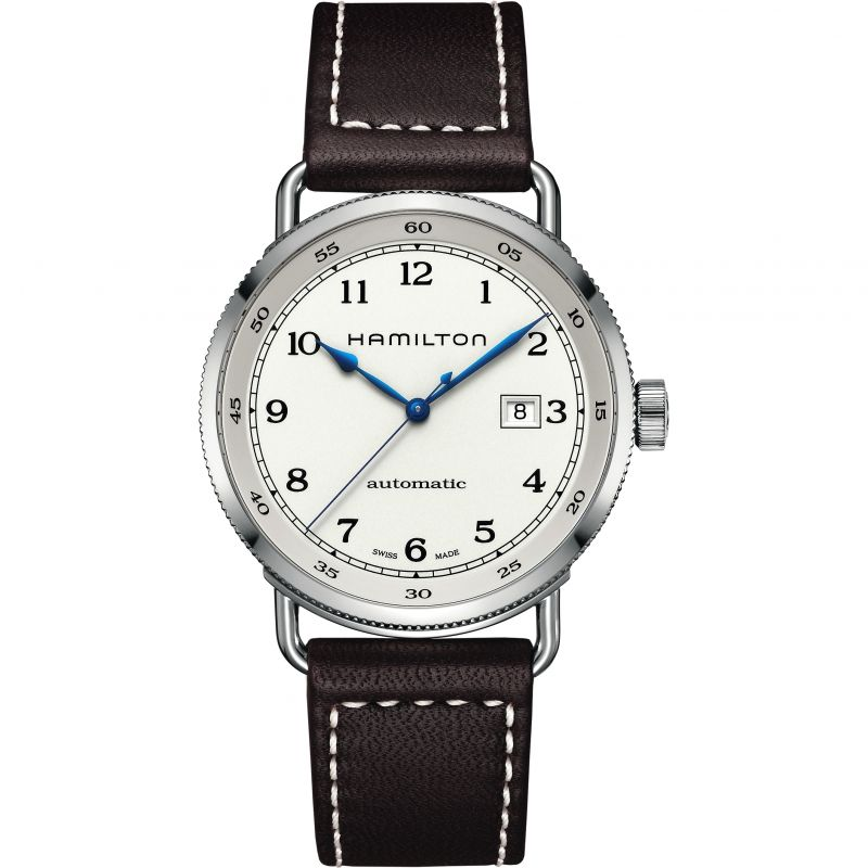 Mens Hamilton Khaki Navy Pioneer Automatic Watch H77715553