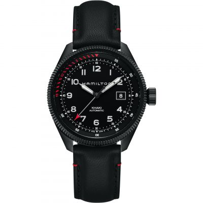 Hamilton Khaki Takeoff Air Zermatt Herrenuhr in Schwarz H76695733