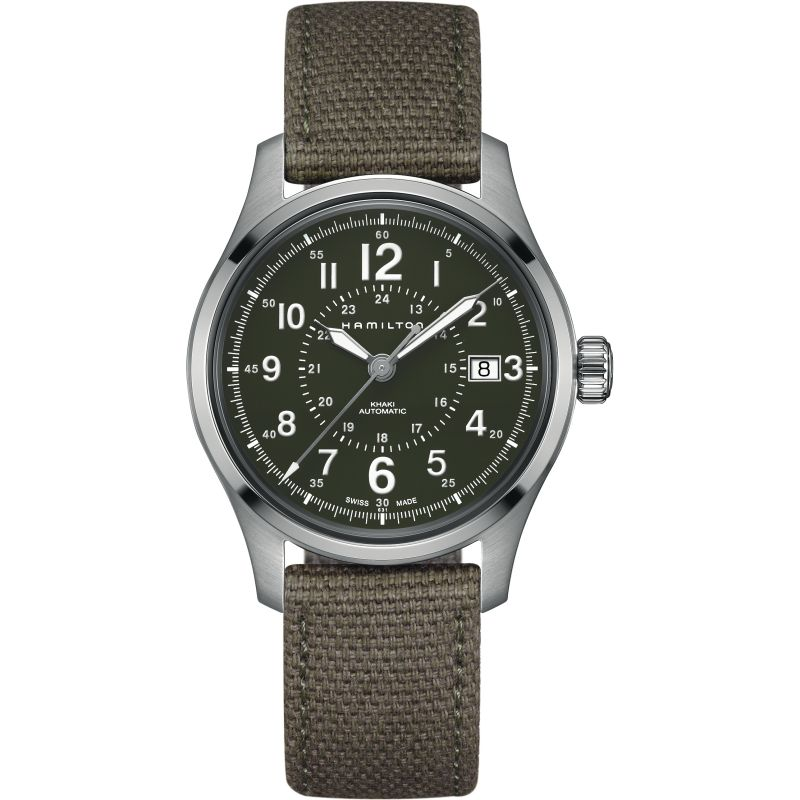 Mens Hamilton Khaki Field 40mm Automatic Watch H70595963