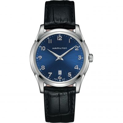 Mens Hamilton Jazzmaster Thinline Watch H38511743