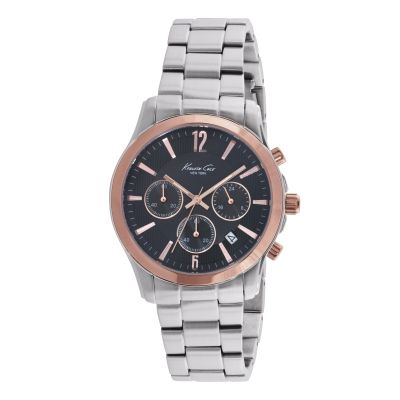 Kenneth Cole Herrenchronograph in Silber KC10021829