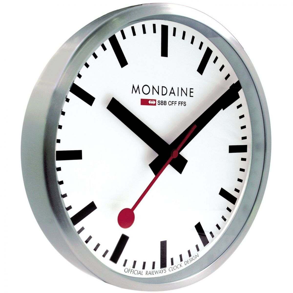 Clock mondaine swiss railways wall clock watch a990 - Swiss railway wall clock ...