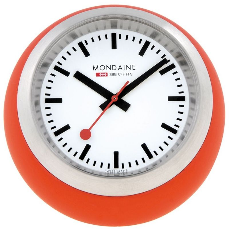 Mondaine Swiss Railways Desk Clock A6603033516SBC