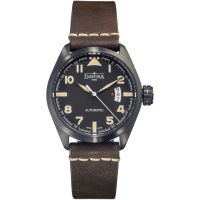 Mens Davosa Vintage Military Automatic Watch