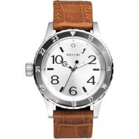 Mens Nixon The 38-20 Leather Watch A467-1888