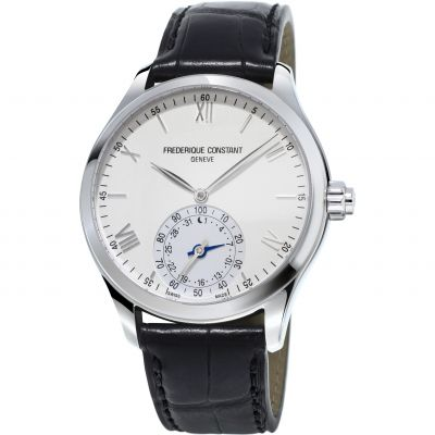 Montre Homme Frederique Constant Horological Smartwatch Bluetooth Hybrid FC-285S5B6