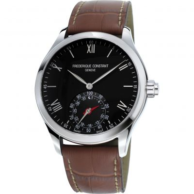 Mens Frederique Constant Horological Smartwatch Bluetooth Hybrid Watch FC-285B5B6