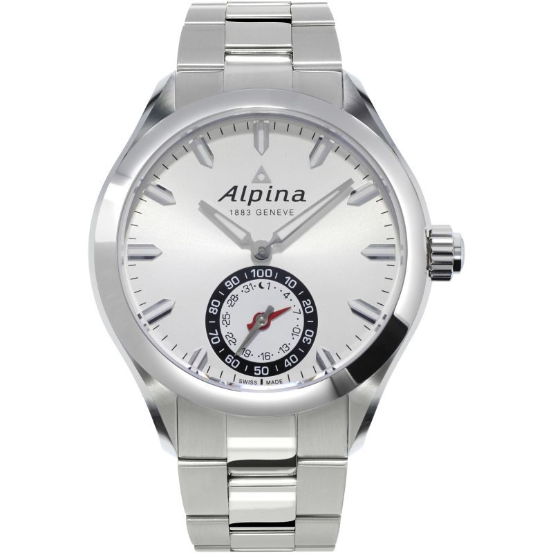 Mens Alpina Horological Smartwatch BluetoothHorological Smartwatch Bluetooth Watch AL-285S5AQ6B