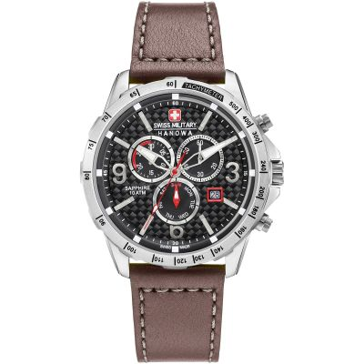 Mens Swiss Military Hanowa Chronograph Watch 6-4251.04.007