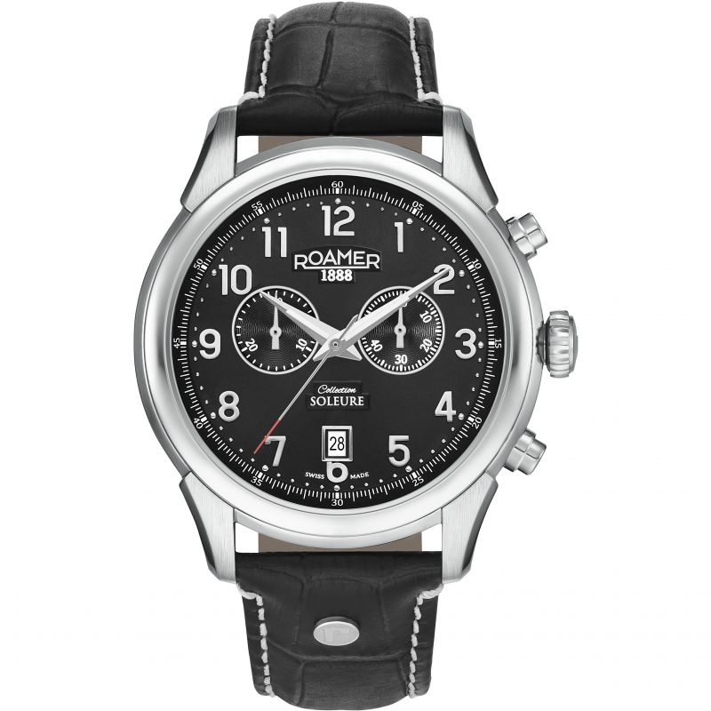 Mens Roamer Soleure Chrono Chronograph Watch 540951415605