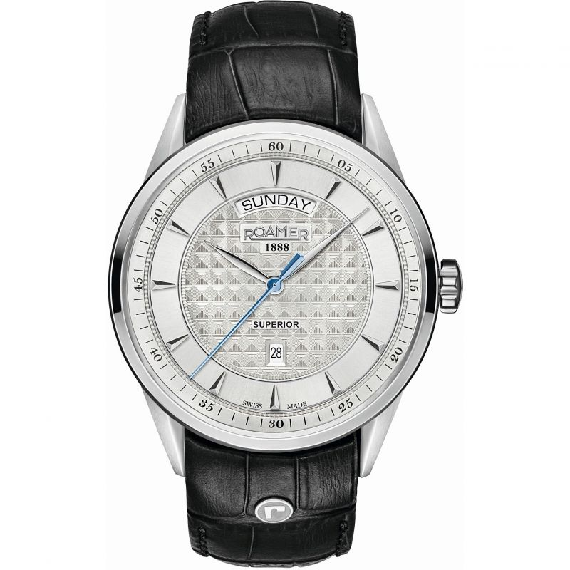 Mens Roamer Superior Day Date Watch