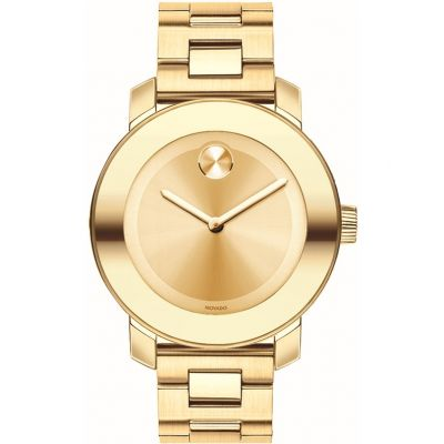 Movado Bold Bold Iconic Damenuhr in Gold 3600085