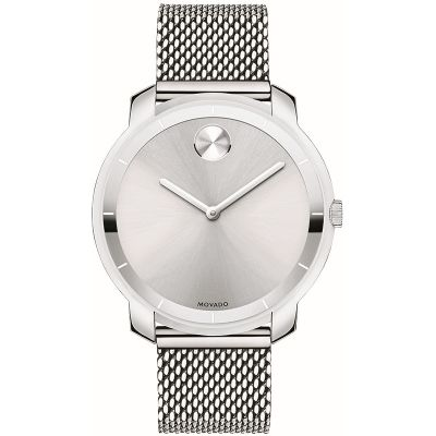Mens Movado Bold Thin Watch 3600241