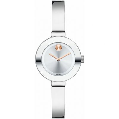 Movado Bold Bold Bangle Damenuhr in Silber 3600284
