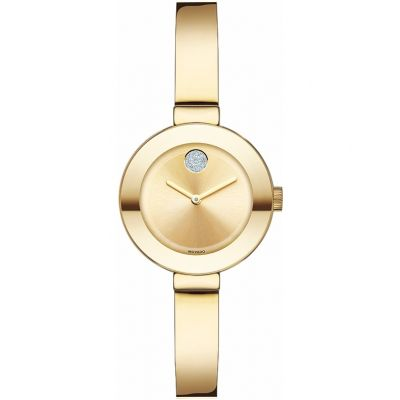 Movado Bold Bold Bangle Damenuhr in Gold 3600285