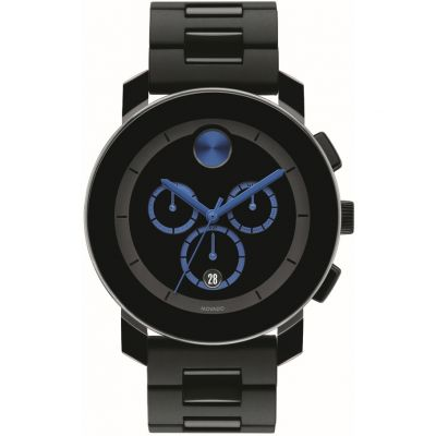 Movado Bold Bold TR90 Herrenchronograph in Schwarz 3600101