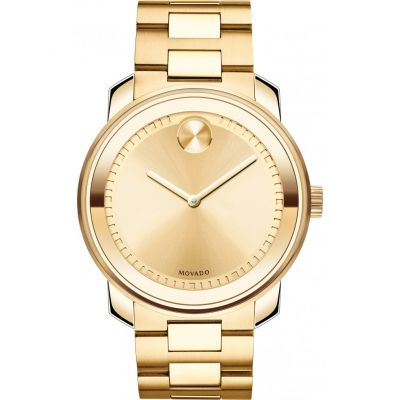 Movado Bold Bold Metals Herrenuhr in Gold 3600258