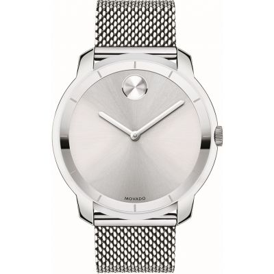 Movado Bold Bold Thin Herrenuhr in Silber 3600260
