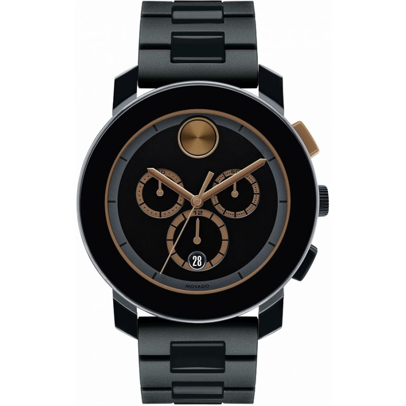 Mens Movado Bold Chronograph Watch