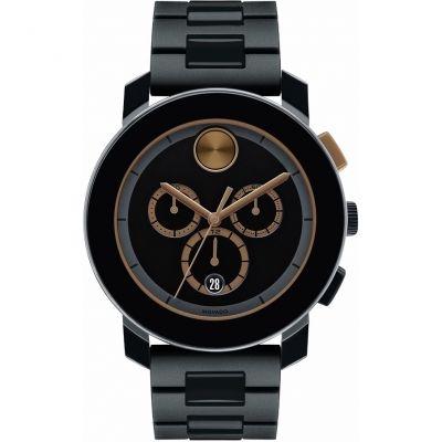 Mens Movado Bold Chronograph Watch 3600271