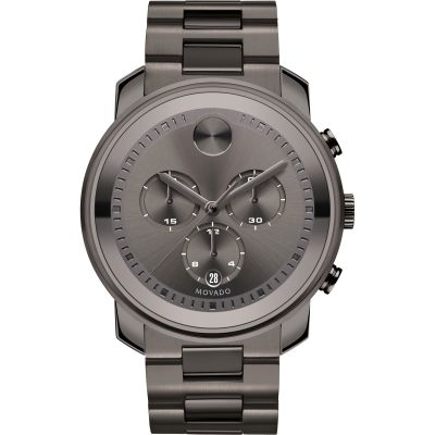 Mens Movado Bold Metals Chronograph Watch 3600277