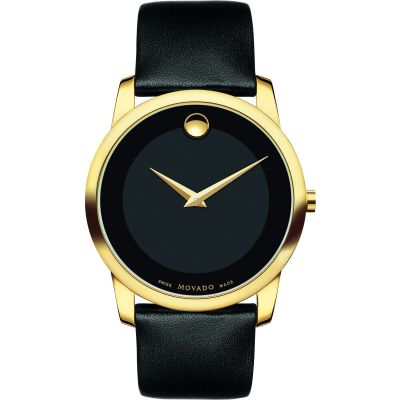 Mens Movado Museum Classic Watch 0606876