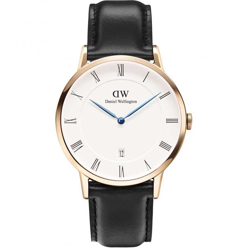 Mens Daniel Wellington Dapper 38mm Sheffield Rose Watch