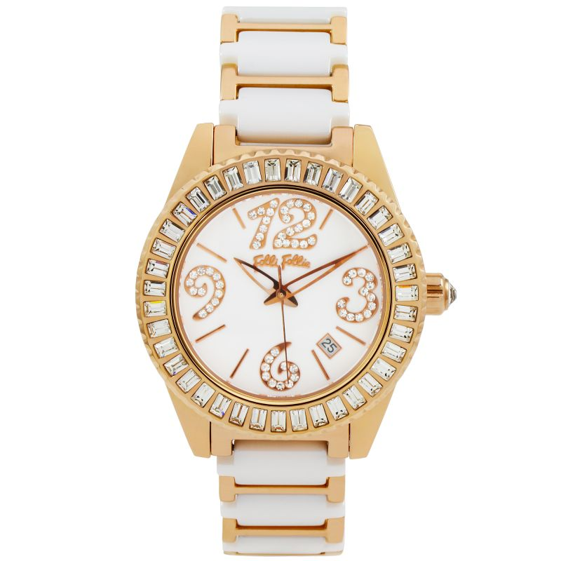 Ladies Folli Follie Cer 4S Watch