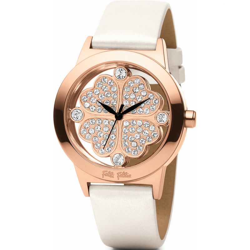 Ladies Folli Follie Hrt 4 Hrt Watch