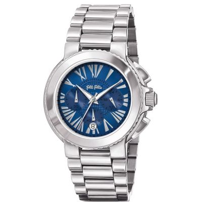 Ladies Folli Follie Watchalicious Chronograph Watch 6010.1595