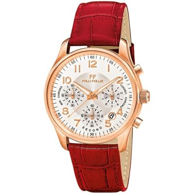 Ladies Folli Follie Timeless Chronograph Watch 6010.1510