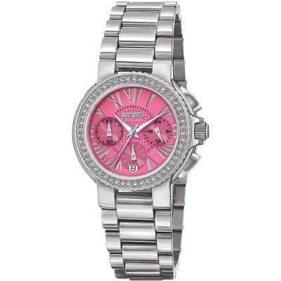 Ladies Folli Follie Watchalicious Chronograph Watch 6010.1602