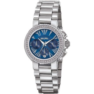 Ladies Folli Follie Watchalicious Chronograph Watch 6010.1604