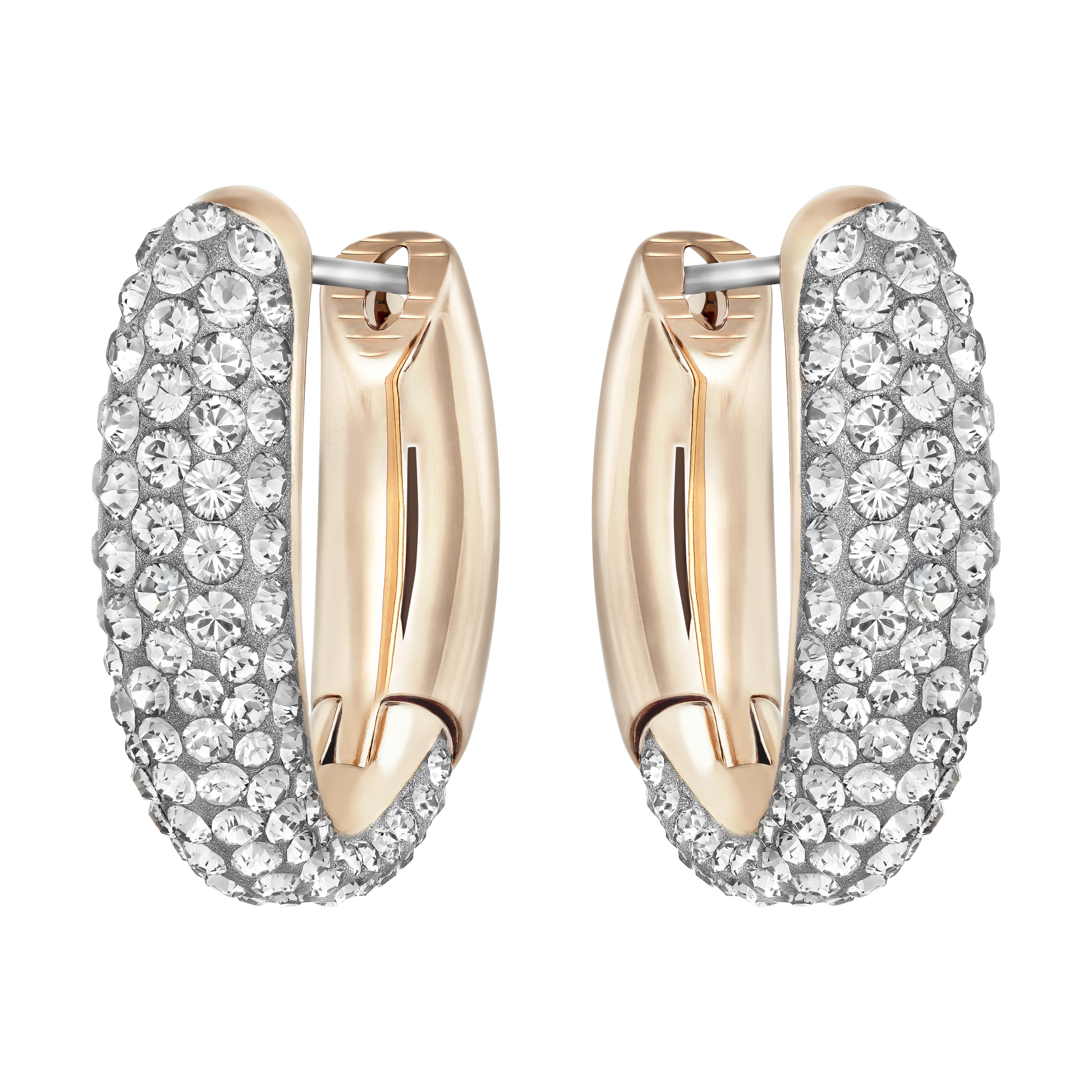 529e85aa9 Ladies Swarovski Jewellery PVD rose plating Circlet Hoop Earrings (5153433)  | WatchShop.com™