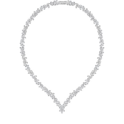 Ladies Swarovski Stainless Steel Diapason Necklace 5184273
