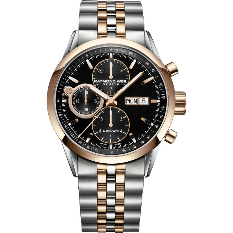 Gents Raymond Weil Freelancer Chronograph Watch (7730-SP5