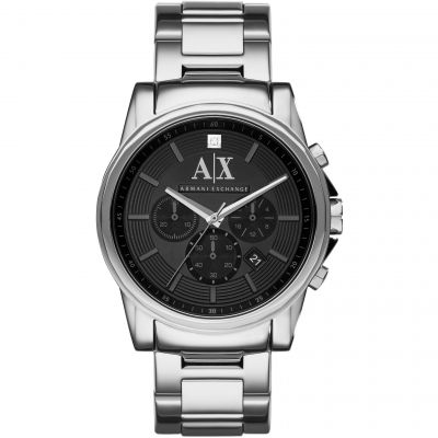 Armani Exchange Herrenchronograph in Silber AX2504