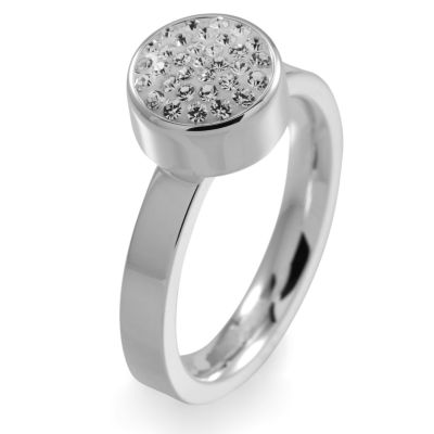 Folli Follie Dam Bling Chic Ring Rostfritt stål 5045.3101