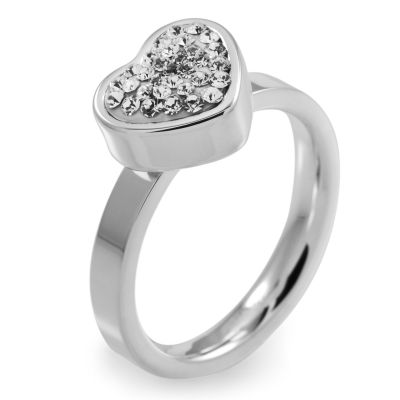 Folli Follie Dam Bling Chic Ring Rostfritt stål 5045.3100