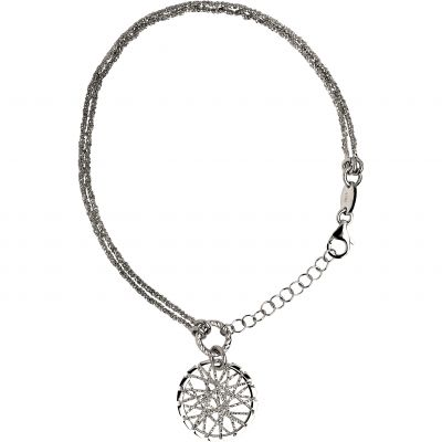 Ladies Links Of London Sterling Silver Dream Catcher Bracelet 5010.2530