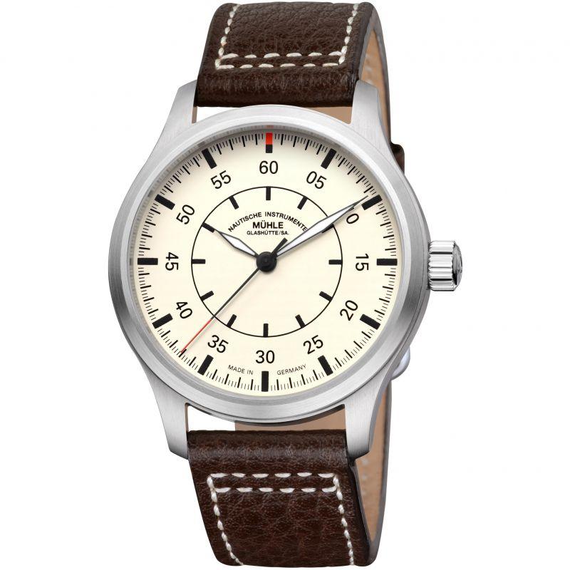 Mens Muhle Glashutte Terrasport I Beobachter Automatic Watch