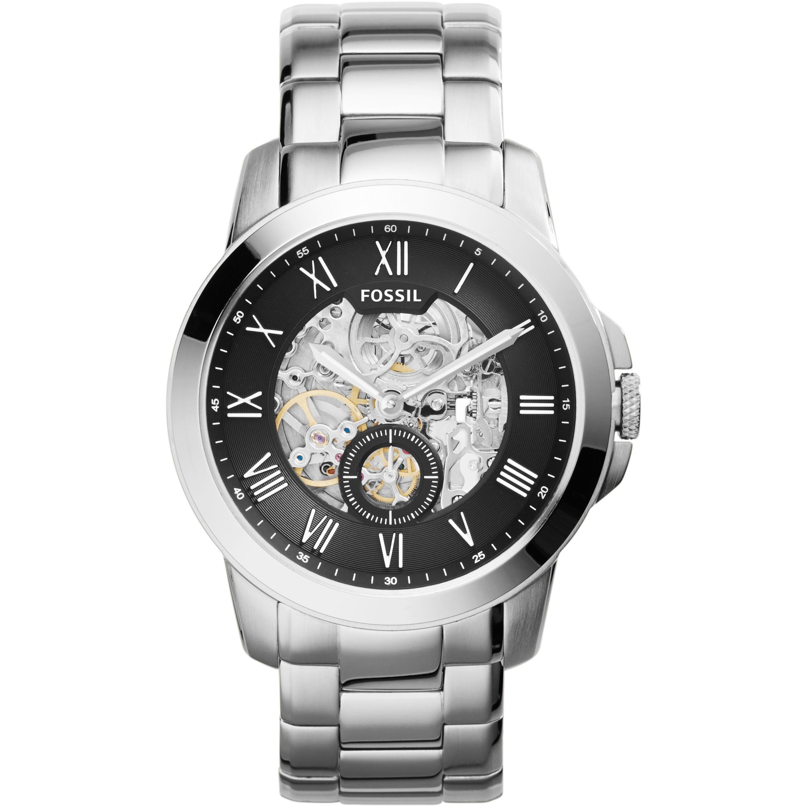 Fossil Grant Automatik Fl13 Startupjobsfa Me3138 Sport Automatic Skeleton Dial Black Leather Watch Am Besten Gents Me3055 Watchshopcom Bj78