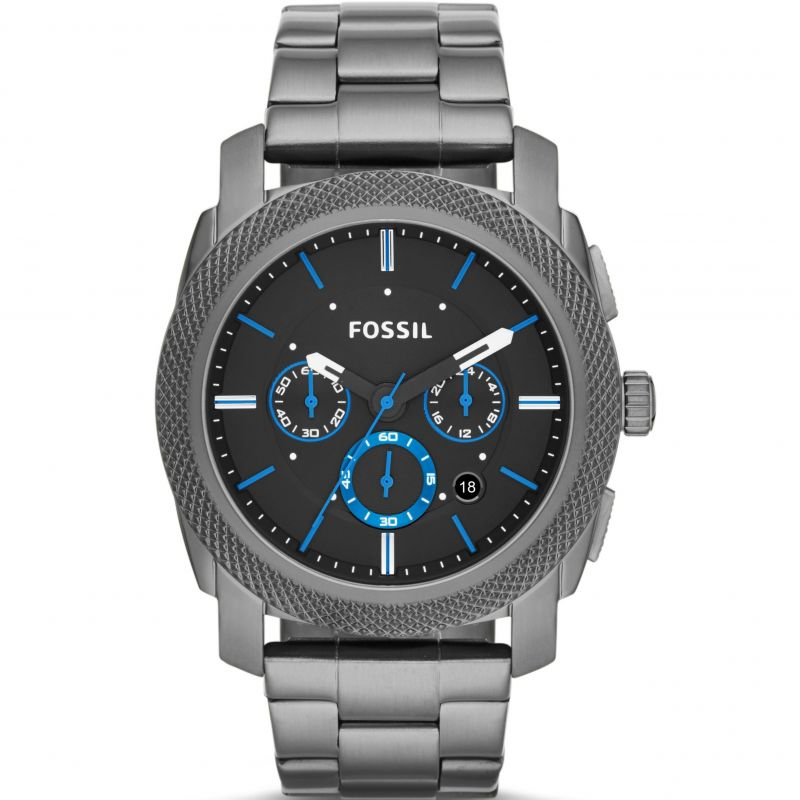 Mens Fossil Machine Chronograph Watch FS4931