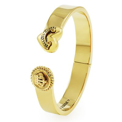 Biżuteria damska Juicy Couture Jewellery Heart And Coin Hinged Bangle WJW460-710