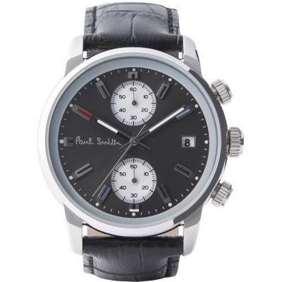Paul Smith Block Herenchronograaf Zwart P10031
