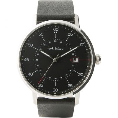 Paul Smith Gauge Herrenuhr in Schwarz P10071
