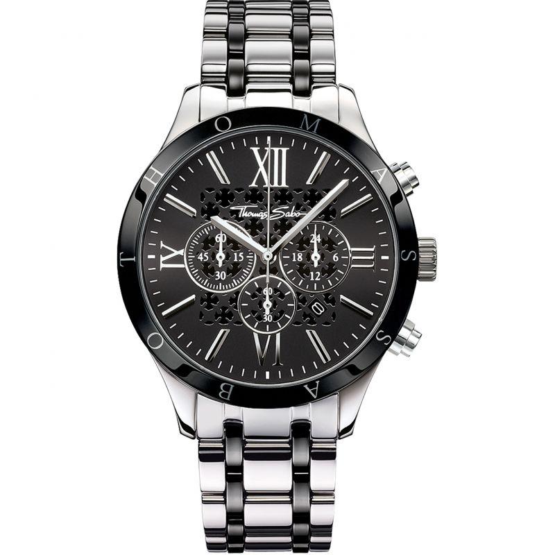 Mens Thomas Sabo Rebel Urban Chronograph Watch