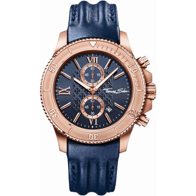 Mens Thomas Sabo Rebel Race Chronograph Watch
